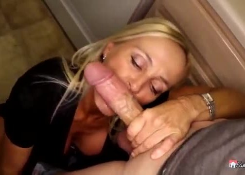 Sneaky step son got to fuck his milf mom